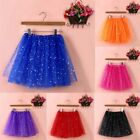 Womens Girls Sexy Gauze Pleated Ballet Tulle Short Mini Dance Skirt Tutu Dress