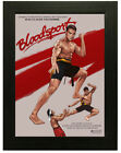 Bloodsport Van Damme Classic Movie Poster or Canvas Art Print - A3 A4 Sizes