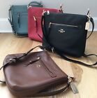 New Coach F34823 Mae Crossbody Pebble Leather Bag