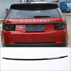 Car Chrome Gloss Black Tail Door Lid Strip Trim For Land Rover Discovery Sport