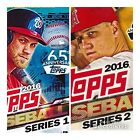 2016 topps series 1 and 2 cards # 1 thru 701 complete your set pick your card