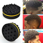 Double Sided Wave Barber Hair Brush Sponge Dreads Locking Twist Afro Curl Tool