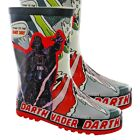 Official Boys Star Wars Darth Vader Wellington Boots Wellies UK Size 10 11 12 13 $12.39 CAD on eBay