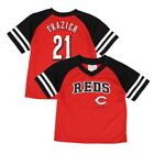 Todd Frazier MLB Cincinnati Reds Red Jersey T-Shirt Infant Toddler (12M-4T) on Ebay