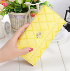 New Women Purse Clutch Leather PU Crown Wallet Long Card Holders Phone Handbag