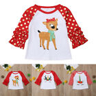 Внешний вид - Toddler Kids Baby Boy Girls Clothing & T-shirt Party Tees Tops Outfit Christmas