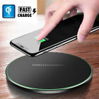 Qi Wireless Fast Charger Pad Charging Dock for i Phone X XS Max Samsung GalaxyS9