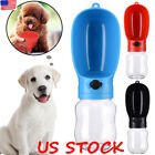 Hand Portable Cat Dog Water Bottle Bowl Cup Pet Drinking Dispenser Feeder Travel