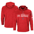 2018 Boston Red Sox Majestic MLB Postseason DO DAMAGE Authentic Streak Hoodie
