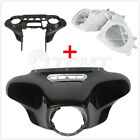 Batwing Inner Outer Fairing Speakers Cover For Harley Street Electra Glide 14-19 $252.53 USD on eBay