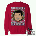 Ex-Presidents Ugly Christmas Sweater (Ronald Reagan) C Scott Spencer Designs S M