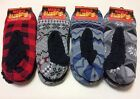 NWT 2 Pair Polar Extreme Heat Mens Insulated Thermal Fleece Lined Slippers Gift