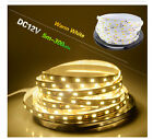 12V 5M 300 Leds 5630 SMD Pure/Warm White Ultra Bright Flexible Strip Light Lamp