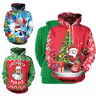 Men Women Christmas Holiday Sweaters Xmas Sweatshirt Pullovers T-shirts Hoodies