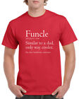 Funcle Definition T Shirt Funny Awesome Cool Uncle Gift T-Shirt Baby Shower Tee