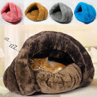 Pet Dog Cat Bed House Kennel Sleeping Mat Pad Cushion Cave Soft Warm Igloo Nest