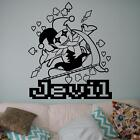 Deltarune - Jevil Wall Decal. Car Decal. Game Art. Vinyl Sticker.