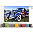 Classic Car Poster Canvas Print Vintage Wall Art Pin Up Room Decor Home Decor