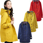 Joules Womens Coast Mid Taped Breathable Waterproof Coat