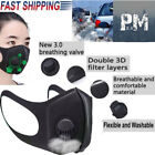 New Washable Valved Dust Mask Respirator Reusable & Comfortable Wear in 5 piece
