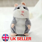 Cheeky Hamster Talking Walking Nodding Sound Record Electric Toy Xmas Gift kids