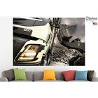 Volvo FMX Truck Poster Canvas Print Car Wall Art Pin Up Room Decor Home Decor