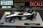 McLaren MP4-14 1999 + Coulthard water slide DECALS 1:43 F1 Car / Auto Collection