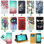 Nokia Leather Printed Pattern Wallet Kickstand Flip Book Bag Case Cover