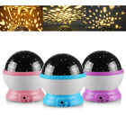 Children Night Light Star Sky LED Projector Rotating Magic Kids Lamp