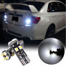 2PCS Xenon White Canbus Error Free T10 W5W LED Bulbs For BMW Parking Lights