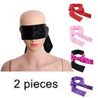 Cytherea Multicolor Satin Blindfold Eye Mask Couple Game Cosplay Soft Love Cover