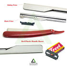 Straight Edge Barber Salon Wet Shaving Razor Straight Cut Throat Knife