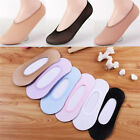 10Pairs Women Invisible No Show Nonslip Loafer Boat Liner Low Cut Cotton SocksKG