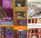 Hand Spinning & Dyeing DVD Video Instruction;  Select from multiple titles.