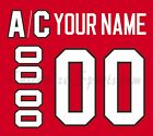 Chicago Blackhawks Customized Number Kit for 2007-Present Home Jersey $34.99 USD on eBay