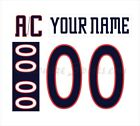 Columbus Blue Jackets 2001-16 White Jersey Customized Number Kits un-stitched $34.99 USD on eBay
