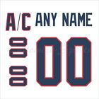 New York Rangers 2012 Winter Classic Jersey Customized Number Kit un stitched