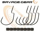 New Savage Gear 4Play Weedless Hooks 5Pcs Weighted Jig Predator Lure Fishing lrf