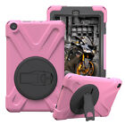 Hybrid Rugged Hard Stand Case For Amazon Kindle Fire HD 8 Gen 2018 Tablet 2017