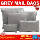 9 x12 inch Strong Grey Mailing Post Mail Postal Bags Poly Postage SelfSeal Cheap