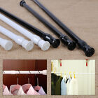 Внешний вид - High Carbon Steel Adjustable Rod Tension Bathroom Curtain Extensible Rod Hanger