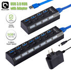 For PS4/Slim/Pro Hub 4/7Port USB 3.0 High Speed Extension Charger Adapter Switch