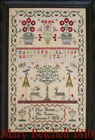 Внешний вид - Mary Betchell 1810 Reproduction Sampler Scarlett House Cross Stitch Pattern