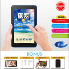 """10.1'' 9"""" Inch Tablet PC Android Quad Core 16GB/8GB HD WIFI Dual Camera WiFi"""