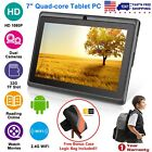 "7-9"" Inch Tablet PC Android Quad Core 16GB/8GB HD WIFI Dual Camera for Kids"