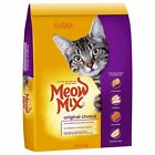 Meow Mix Dry Cat Food Original, 16 LB, Chicken Salmon Turky Flavor