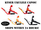 KYSER QUICK CHANGE UKULELE CAPO - 4 COLOR CHOICES