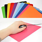 21.5 x 17.5cm Gaming PC Laptop Mouse Pad Anti-Slip Solid Color Rectangle Mat HK