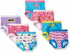 Justice League Girls Training Pants 7-Pack Sizes 2T, 3T, 4T