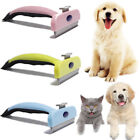 Pet Grooming Comb Shedding Hair Removal Brush Non Slip Handle Dog Cat Supplies